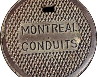 "DOORMAT - Montreal ""Conduit"" Sewer Cover - Original Photography"