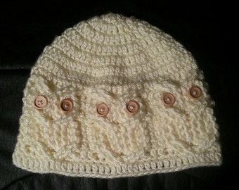 Crochet Owl Hat Baby to Adult Sizes Available