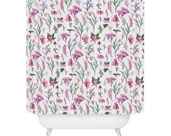 Boho Brocade Shower Curtain