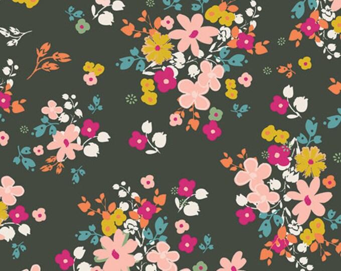 Indie Boheme fabric, Bohemian Fabric, Floral Fabric, Fabric Shoppe, Boho decor, Art Gallery fabrics, Blooming Soul Laurel- Choose your cut