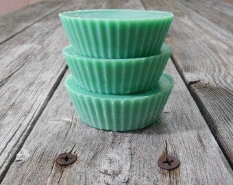 Wax Tarts~English Ivy~ Soy Tart Melts~ Set of 3~ Home Fragrance~Green