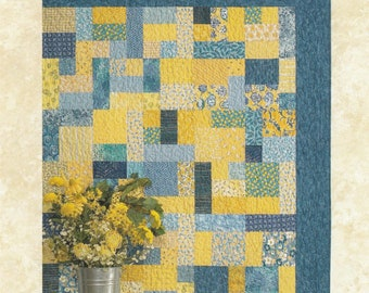 Atkinson Design YELLOW BRICK ROAD Quilt Pattern Quilting Sewing Fabric