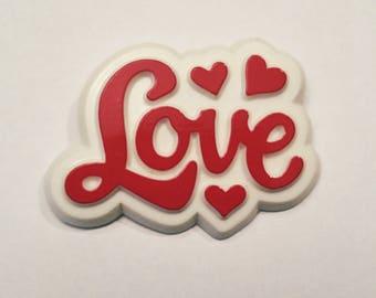 1980s Hallmark Love pin pinback button