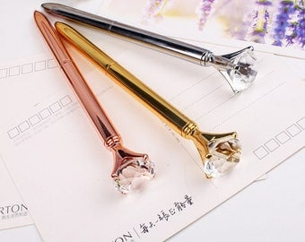 Diamond Ballpoint Pen Black Ink • Diamond Pen