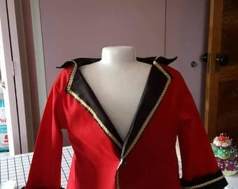 Master Circus   Costume Jacket  and hat with pants
