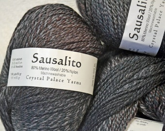 Sausalito- Crystal Palace Yarn~8307~French Roast ~ 4 SKEINS