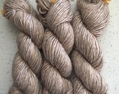 Camel Blend Single Ply Worsted Yarn