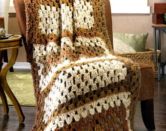 Custom Crochet Classicly Country Afghan Gift Present Christmas Birthday Mothers Day Wedding Graduation Made to Orde