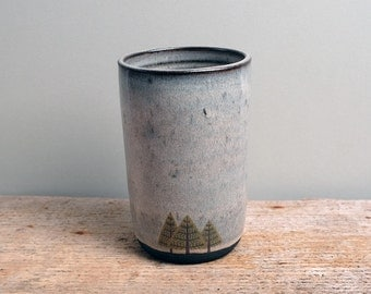Tall Pine Trees Cup