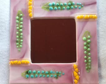 Fused Glass Decorative Mirror