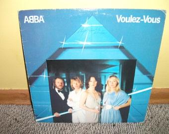 Abba Voulez-Vous Vinyl Record album NEAR MINT condition