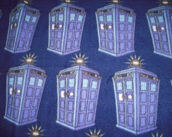Dr. Who NoSew Fleece Lap Blanket
