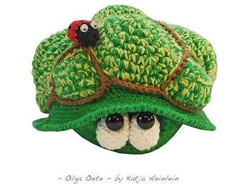 turtle olga oete, PDF crochet pattern by Katja Heinlein