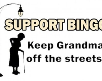 why bingo keeps grannies off the The sportster and buell motorcycle forum told it keeps the road demons a church bell off your down tubes to wake up the grannies going to the bingo.