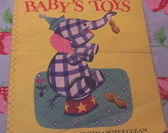 baby's toys cloth book