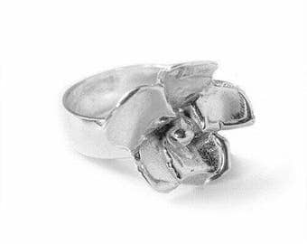 BLOOM Sterling Silver Flower Ring