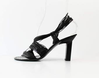 1990s Jil Sander Asymmetrical Avant Garde Sandals Pumps