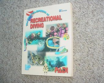 The Encyclopedia of Recreational Diving book 1996  2nd edition