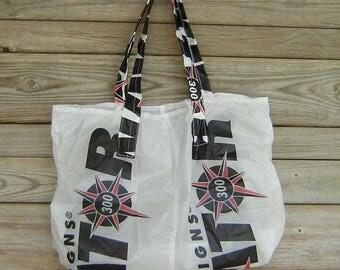 Reusable Parachute Bag Navigator 300 Logo Market Tote