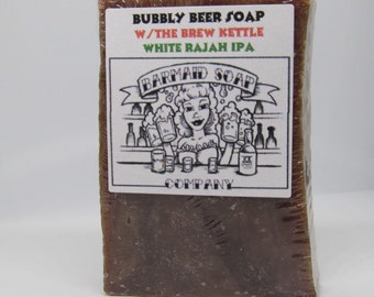 Beer Soap with IPA