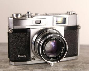 Vintage Beauty canter super range finder film camera - 45mm f 2 - Made in japan 1958 - Fonctional and tested