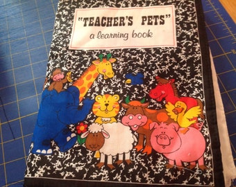 Teachers Pet fabric book