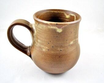 Second sale, Large Pottery mug, Handmade ceramic mug, 20 oz - In stock