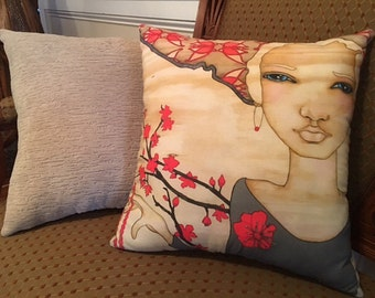 "Picture Perfect Pillows.  ""Zanubia"" Set of 2"