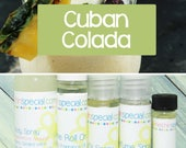 Cuban Colada Perfume, Perfume Spray, Body Spray, Perfume Roll On, Perfume Sample Oil, Dry Oil Spray, You Pick the Product You Want