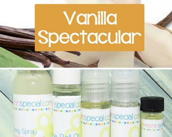 Vanilla Spectacular Perfume, Perfume Spray, Body Spray, Perfume Roll On, Perfume Oil, Dry Oil Spray, Vanilla Body Spray, 5 Product Choices