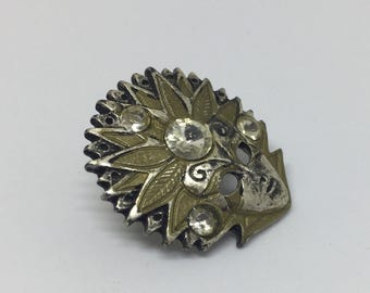 Carnival Mask Lapel Pin