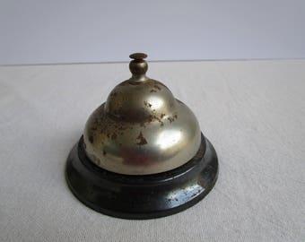 Vintage Bell, Vintage Front Desk Bell, Hotel Lobby Bell, Counter Bell,  Bell