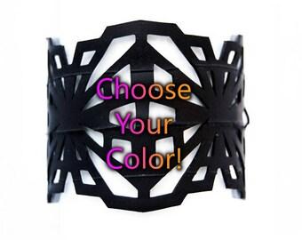 Crystalline Ulradsuede Bracelet