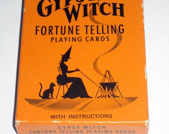 Vintage  Gypsy Witch Fortune Telling Cards for Altered Art, Collage, Scrapbooking, etc.