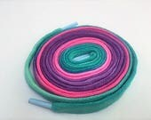 Hand Dyed Shoe Laces (45 inch length) Girly