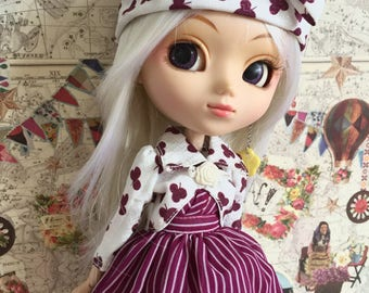 Pullip handmade dress set 3 item