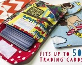 1 POKIE POCKET - The Original Trading Card Pouches - Pick 1 Prints