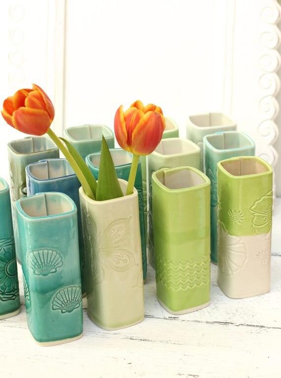 SALE porcelain vase