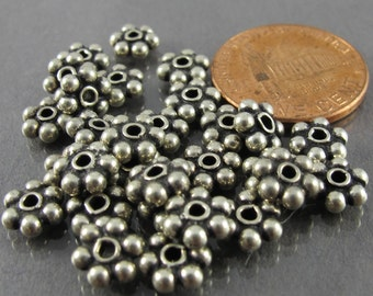29pcs Bali sterling silver beads 12+ grams FREE SHIPPING daisy spacer