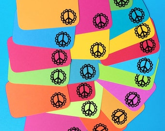 Peace of Mind Stack Pack (20 mini cards/tags)