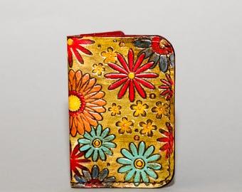 NEW!!! Ladies Textured Minimalist Leather Wallet - Multi Color