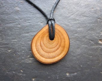 Natural Wood Pendant - English Ash - for Healing.