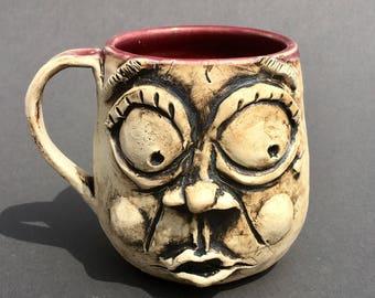 "Ugly mug ""Peg"""