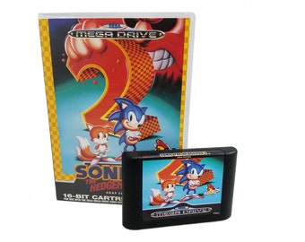 Sonic the Hedgehog 2 Mega Drive SOAP Officially Licensed by Sega