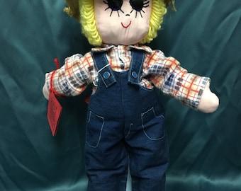 """21"""" Soft Sculpturesd Boy Doll"""