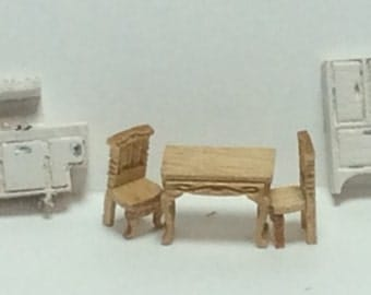 New - 144th Inch Scale Furniture Kits Victorian Style Kitchen