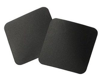 Anti Tarnish paper tabs - black 1 x 1 inch squares - 3m - 1 5 10 - made in USA - storage sterling silver gold copper jewelry - ziplock black