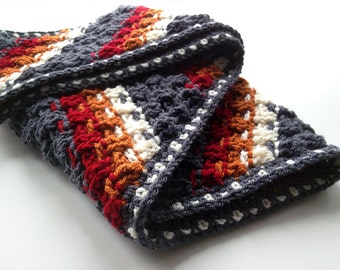 Crochet Pattern for the Dashing Cowl