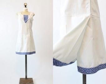 60s Romper Shorts Large / 1960s Vintage Playsuit Swimwear Plus / California Beach Romper