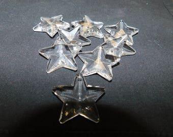 Celestial Crystal  Clear Star Beads